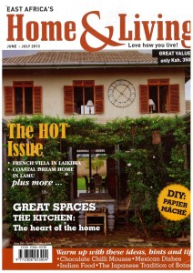 Front Page: Home & Living Magazine (June-July 2013 edition)