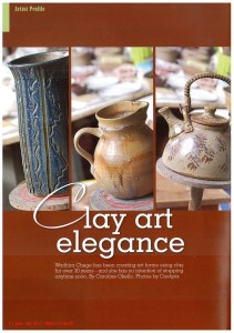 Clay Art Elegance - Home & Living Magazine (June-July 2013 edition)