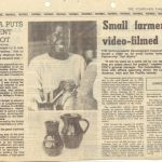 article in The Standard - May16, 1986