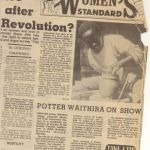 article in The Standard - November 16, 1987