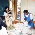 1994 Ceramics Demonstration in Japan